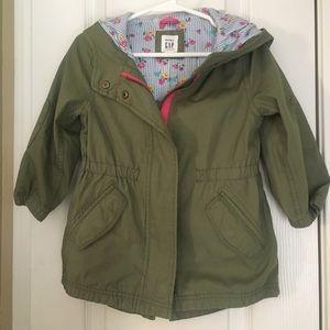 Light weight green jacket